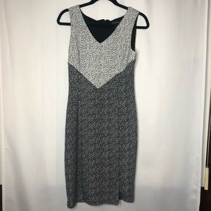 White House Black Market V Neck Dress